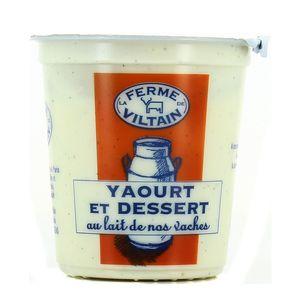 Ferme de Viltain Yaourt Dessert à la Vanille