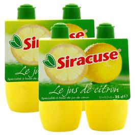 Siracuse Le jus de citron