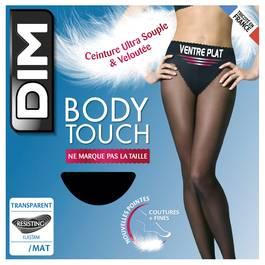 Dim Collant Body Touch Ventre Plat Noir