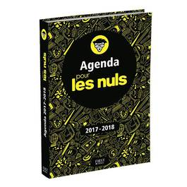 Les Nuls Agenda scolaire 2019-2020 12 x 17 cm