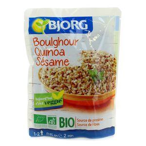 Bjorg Boulghour Quinoa Sésame Bio