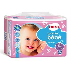 Cora Couches bébé T4 - 7/18 kg