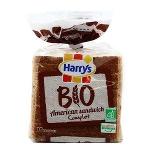 Harrys American Sandwich Complet Bio, 400g