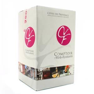 Côtes de Provence rosé Le comptoir des vins de Flassans
