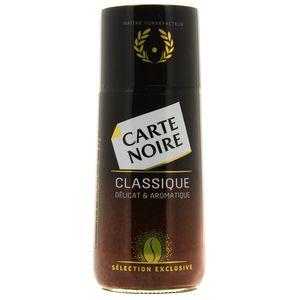 Carte Noire Café soluble classique délicat et aromatisé