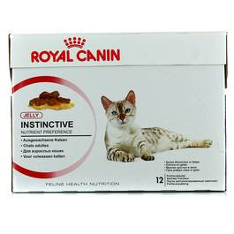 Royal Canin Bouchée en gelée pour chat INSTINTIVE 12
