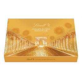 Lindt Champs-Elysées Edition d'or chocolat pétillant