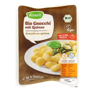 Alnavit Gnocchi au quinoa bio sans gluten
