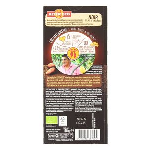 Alter Eco - Commerce Equitable Chocolat noir bio avec éclats de gingembre