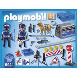 PLAYMOBIL® City Action Barrage de police