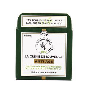 La Provencale Crème de jouvence anti-âge à l'huile d'olive Bio AOC Provence