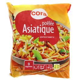 Cora Poêlée asiatique- 9 légumes