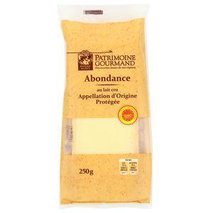 Patrimoine Gourmand Abondance au lait cru AOC