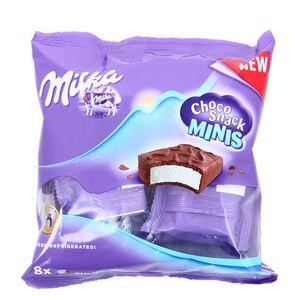 Choco snack mini,MILKA,8x16g