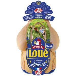Loué Poulet Blanc Label Rouge