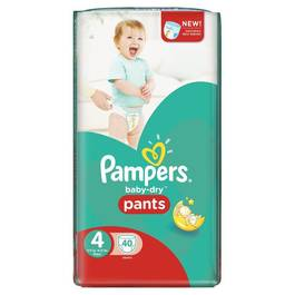 Pampers babydry pants couches culottes t4 8 15kg 40 couches - Couches culottes pampers ...