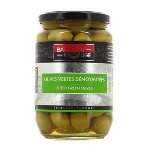 Baton rouge Olives vertes dénoyautées