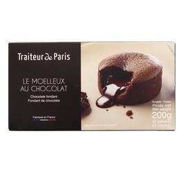 Traiteur de Paris 2 Moelleux au chocolat fondant 2x100g