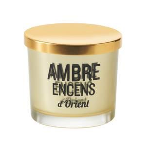 Devineau Bougie sérigraphiée Parfum Ambre encens d'Orient