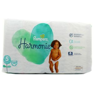 Pampers Harmonie Couches Taille 5 -  11kg+