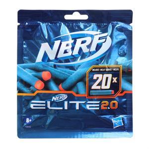 Nerf Recharge 20 Fléchettes Elite 2.0