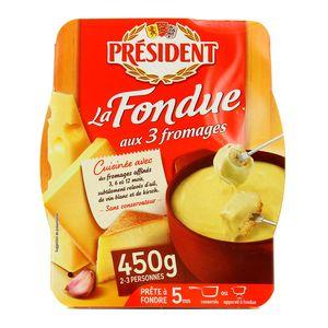 Président Fondue aux 3 fromages