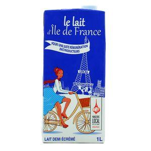 Le lait d''Ile de France Le Lait d'Ile de France 1/2 écrémé