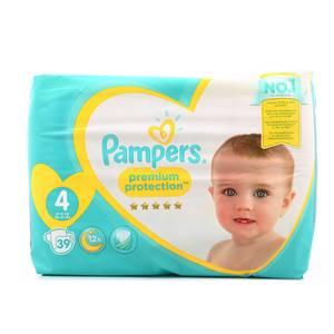 Pampers Premium Couches format Géant T4 9/14kg