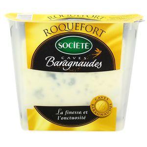 Société Roquefort Caves Baragnaudes lait cru