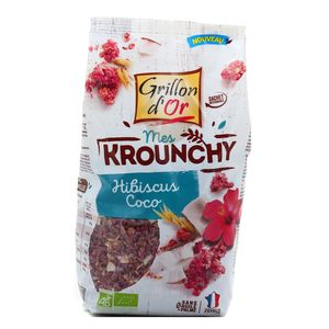 Grillon Or Mes krounchy hibiscus coco bio