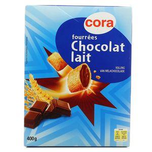 Céréales fourrées Chocolat lait