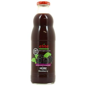 Elite Naturel Pur jus de Mûre bio