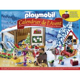 PLAYMOBIL® Christmas Calendrier de l'Avent L'atelier du Père Noël