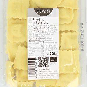 BioVerde Ravioli frais bio à la truffe noire