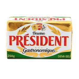 Président Beurre plaquette 1/2 Sel