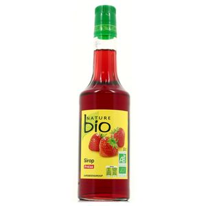Nature Bio Sirop de fraise Bio