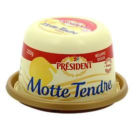 Président La motte tendre, beurre doux