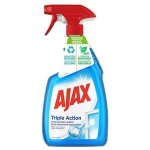 Ajax Spray nettoyant triple action vitres et surfaces laminées