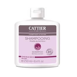 Cattier Shampooing lait capillaire moëlle de bambou Cosmébio