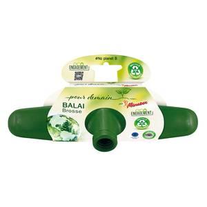 Ménatex - Pour demain Balai brosse 100% recyclé et recyclable