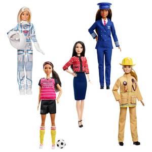 Mattel Barbie métiers célébration 60è anniversaire
