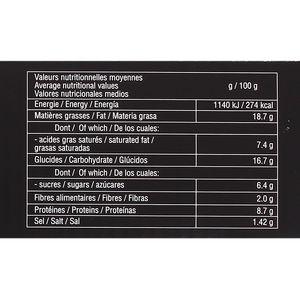Traiteur de Paris 54 canapés salés de Tradition- 9 recettes colorées et panachées