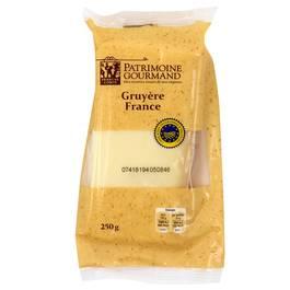 Patrimoine Gourmand Gruyère au lait cru