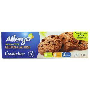 Allergo Cookiechoc sans gluten et sans lactose