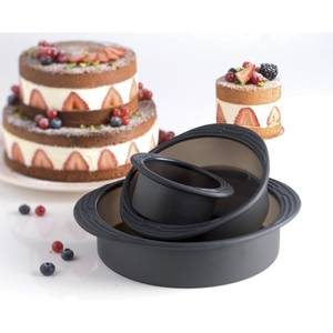 Mastrad Coffret gâteau Licorne, Rainbow cake