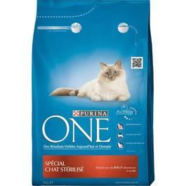 Purina One Croquettes pour chat stérilisé