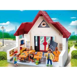 Playmobil city life ecole avec salle de classe 6865 for Salle a manger playmobil city life