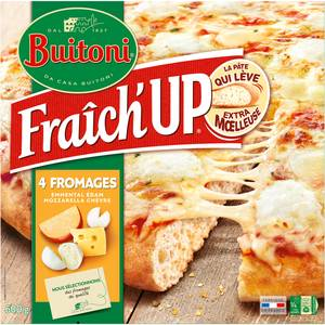 Buitoni Fraich up Pizza 4 fromages- Emmental, edam, mozzarella, chèvre