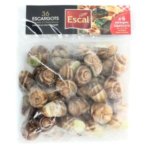 Escargots pur beurre recette à l'alsacienne,ESCAL,437g