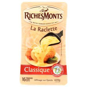 Richesmonts Fromage Raclette classique x16